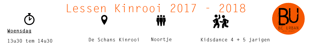 Lessen Kinrooi 2017 2018 november